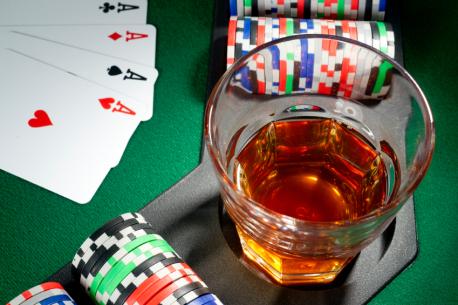 alkohol och hasardspel